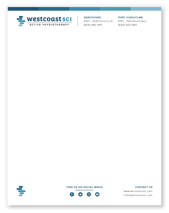 Image of letterhead design